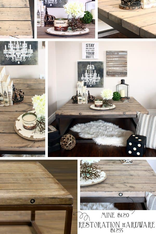 RH BRICKMAKERS TABLE COLLAGE