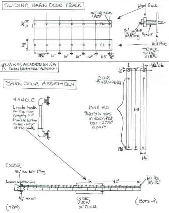 Barn Door Plans jpg