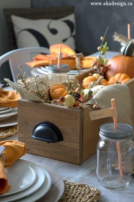 Home U003eu003e Decorating Ideas U003eu003e Seasonal Decorating U003eu003e Fall U0026 Thanksgiving  Decorating U003eu003e 17+ Farmhouse Fall Decor Ideas You Can Steal For Your House!
