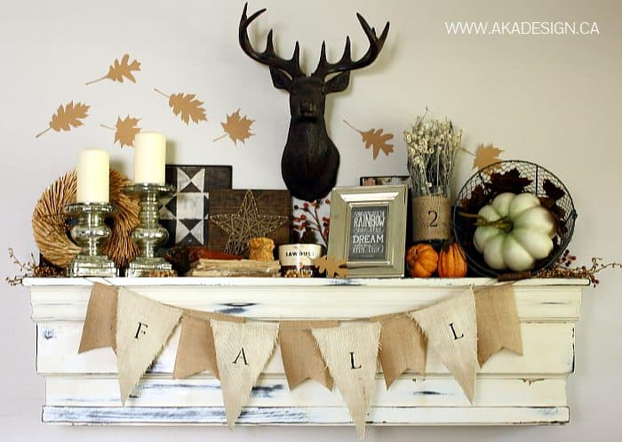 fall mantel aka design