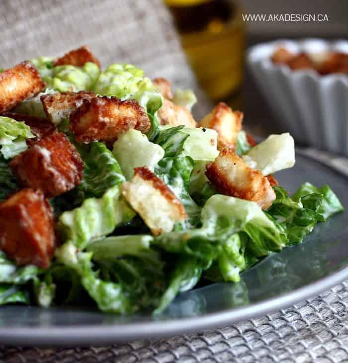 caesar salad | www.akadesign.ca