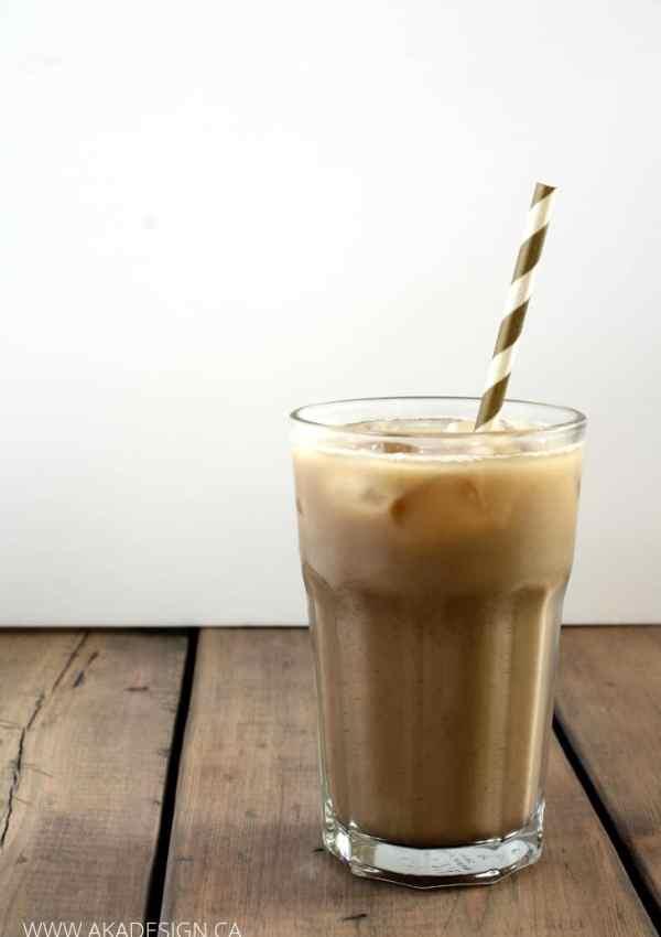 No Sugar Iced Latte Recipe