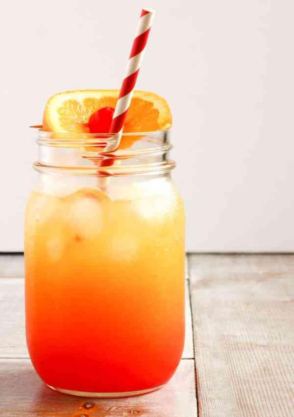 Shirley Temple Recipe (with Orange Juice)