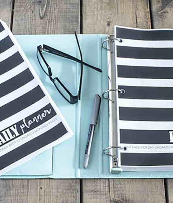 The Daily Planner – FREE Printable Planner