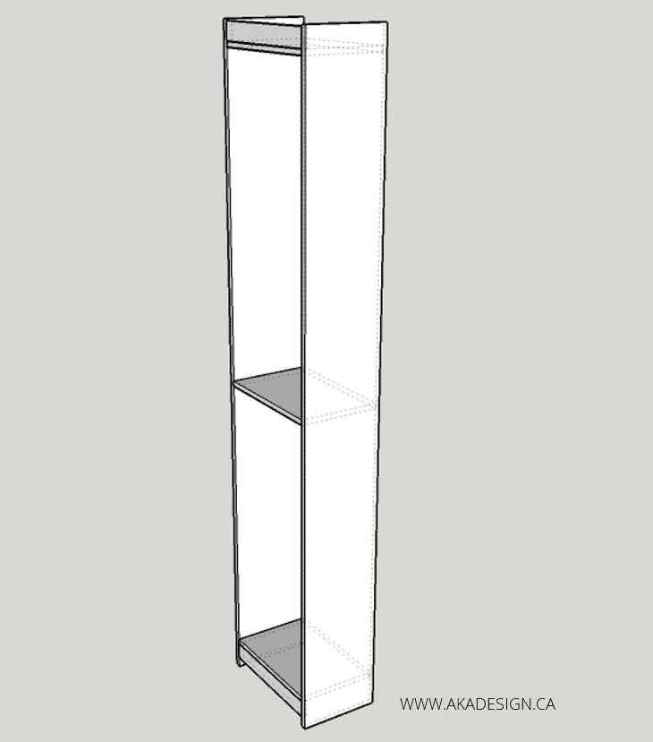 built in desk and shelves SHELF CONSTRUCTION