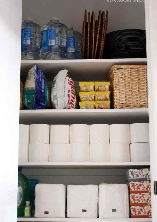 Small Closet to Extra Pantry