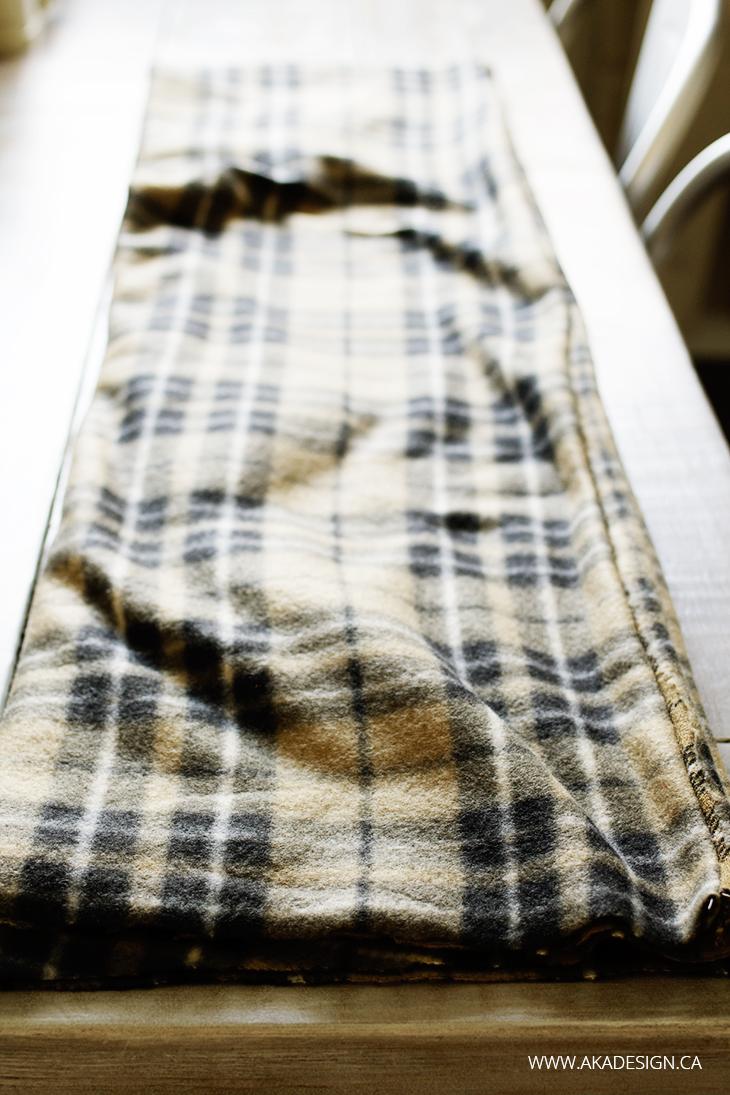 fleece tube for infinity scarf