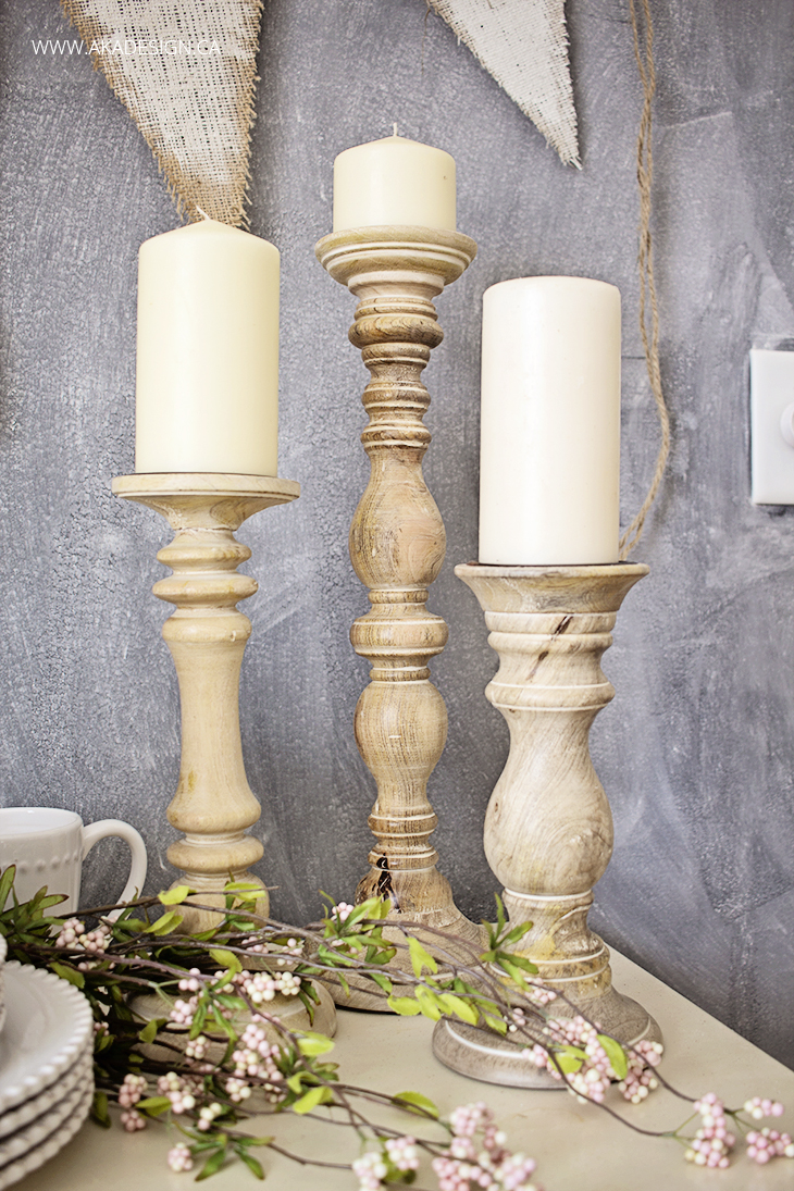 birch lane candlesticks