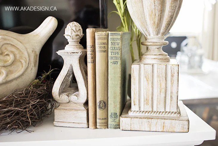 old books statues