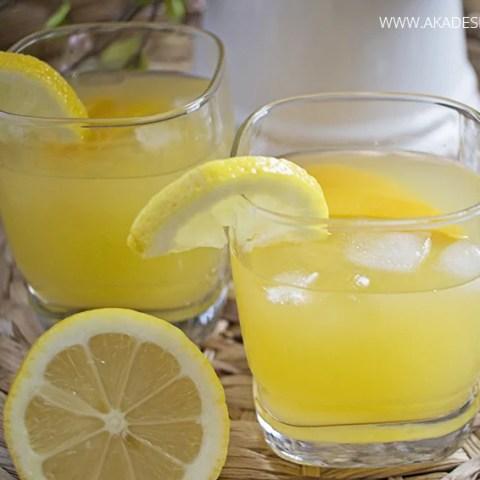 Peach Lemonade (Spiked or Virgin)