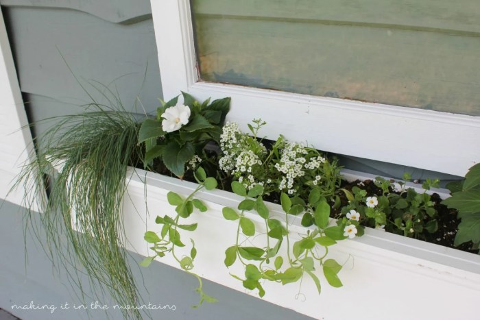 23 Vintage Window Flower Box