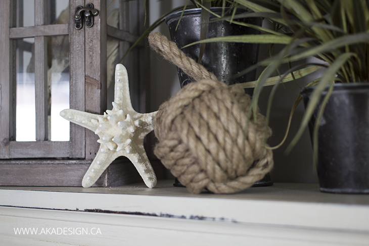 star fish and fisherman's knot
