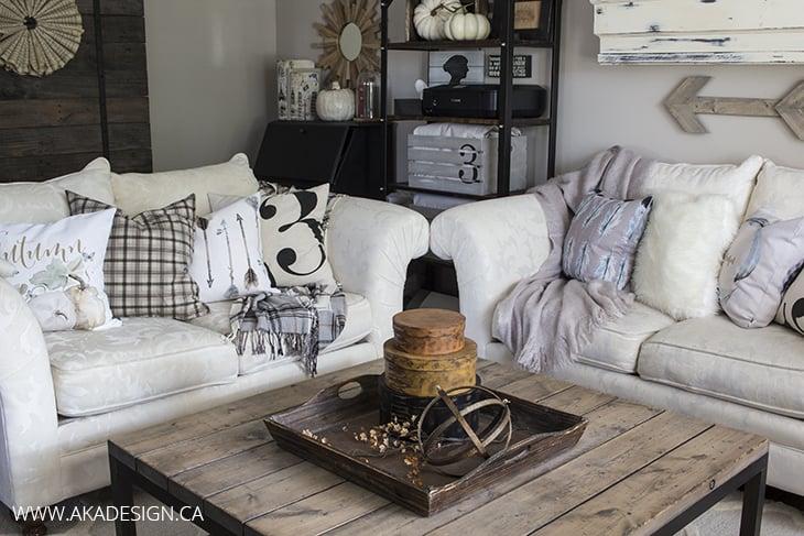 AKA Design Living Room with Craftberry Bush Pillows