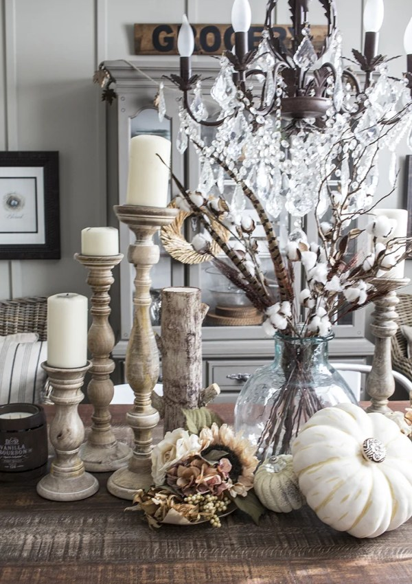 DIY Fancy Faux Pumpkins the Easy Way with Pretty Knobs!