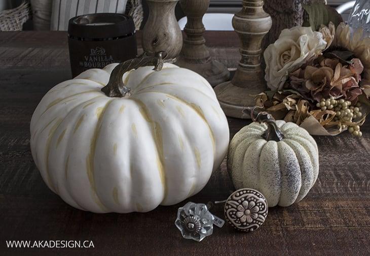 Fancy Faux Pumpkin Supplies Home Made Lovely