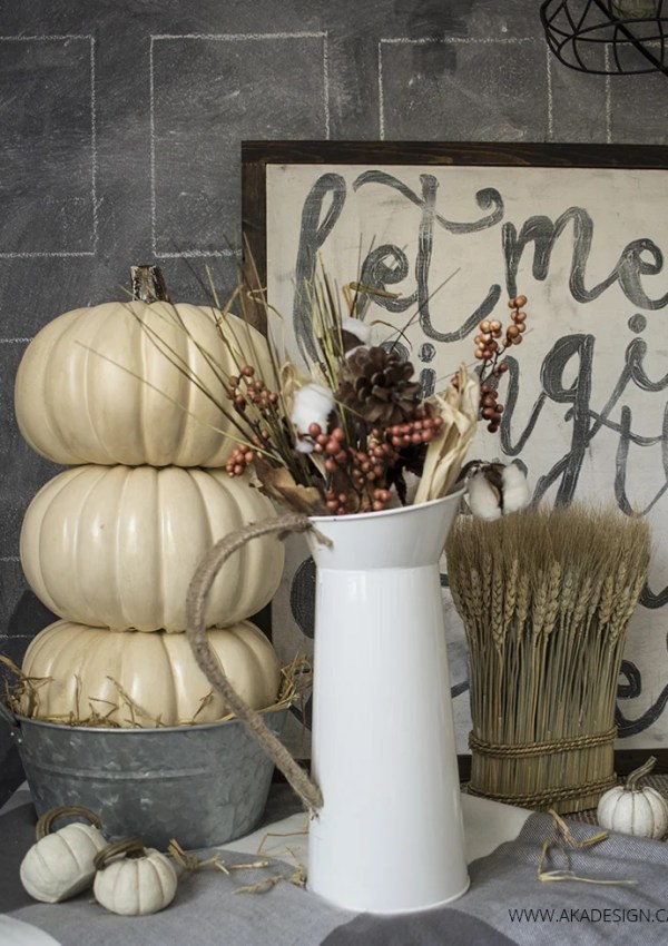 12 Fall Crafts For Your Home That Can Be Made in About an Hour!