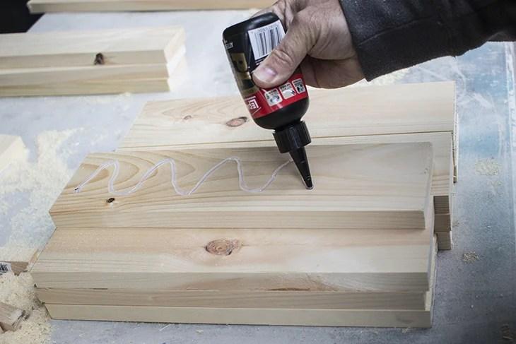 Gluing Wood Doors Home Made Lovely