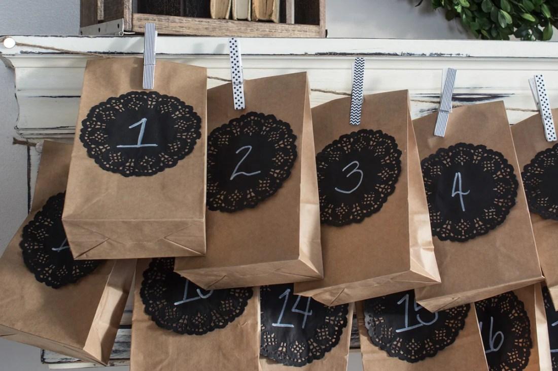 make your own advent calendar a paper bag advent calendar. Black Bedroom Furniture Sets. Home Design Ideas