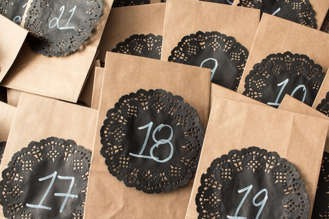 Advent Calendar Final Product (Bags done)