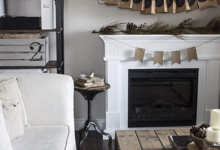 AKA Design Living Room Neutral Christmas Decor