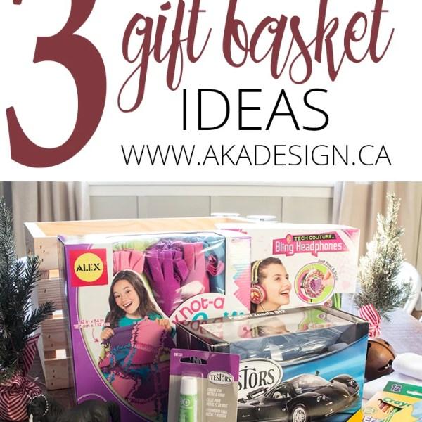 3 CHRISTMAS GIFT BASKET IDEAS