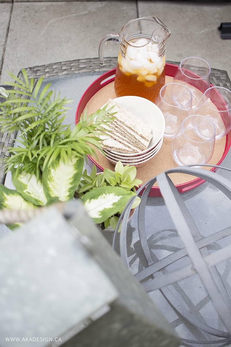 summer patio snacks