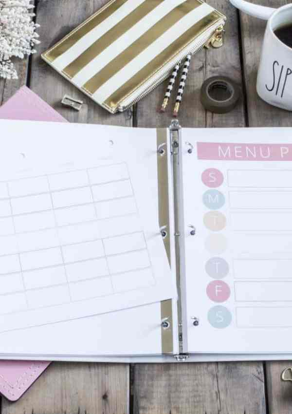 Plan a Week's Worth of Meals in 6 Easy Steps | Meal Planning for Beginners