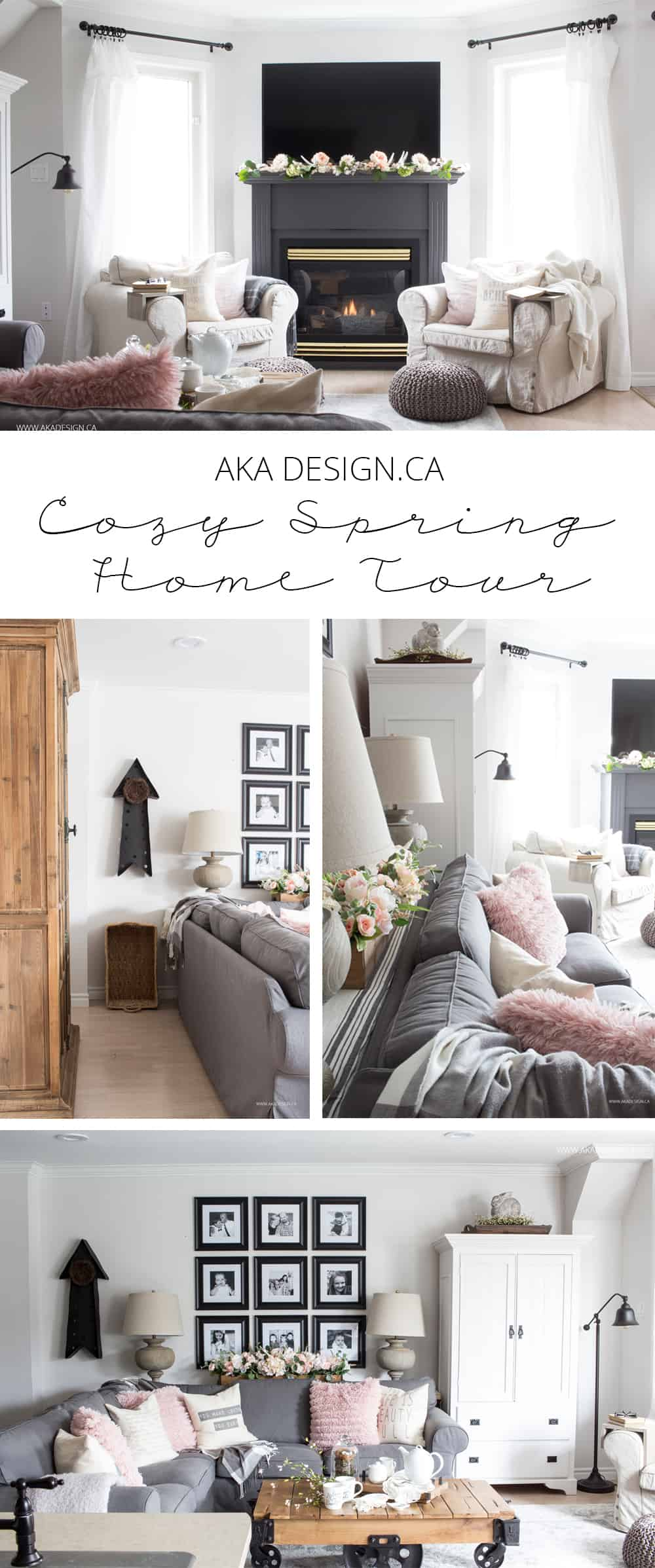 Home Made Lovely Cozy Spring Home Tour