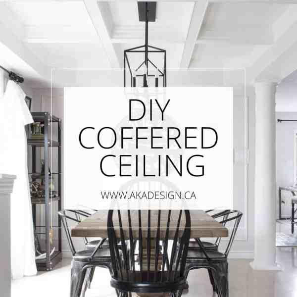 DIY Coffered Ceiling AKA Design