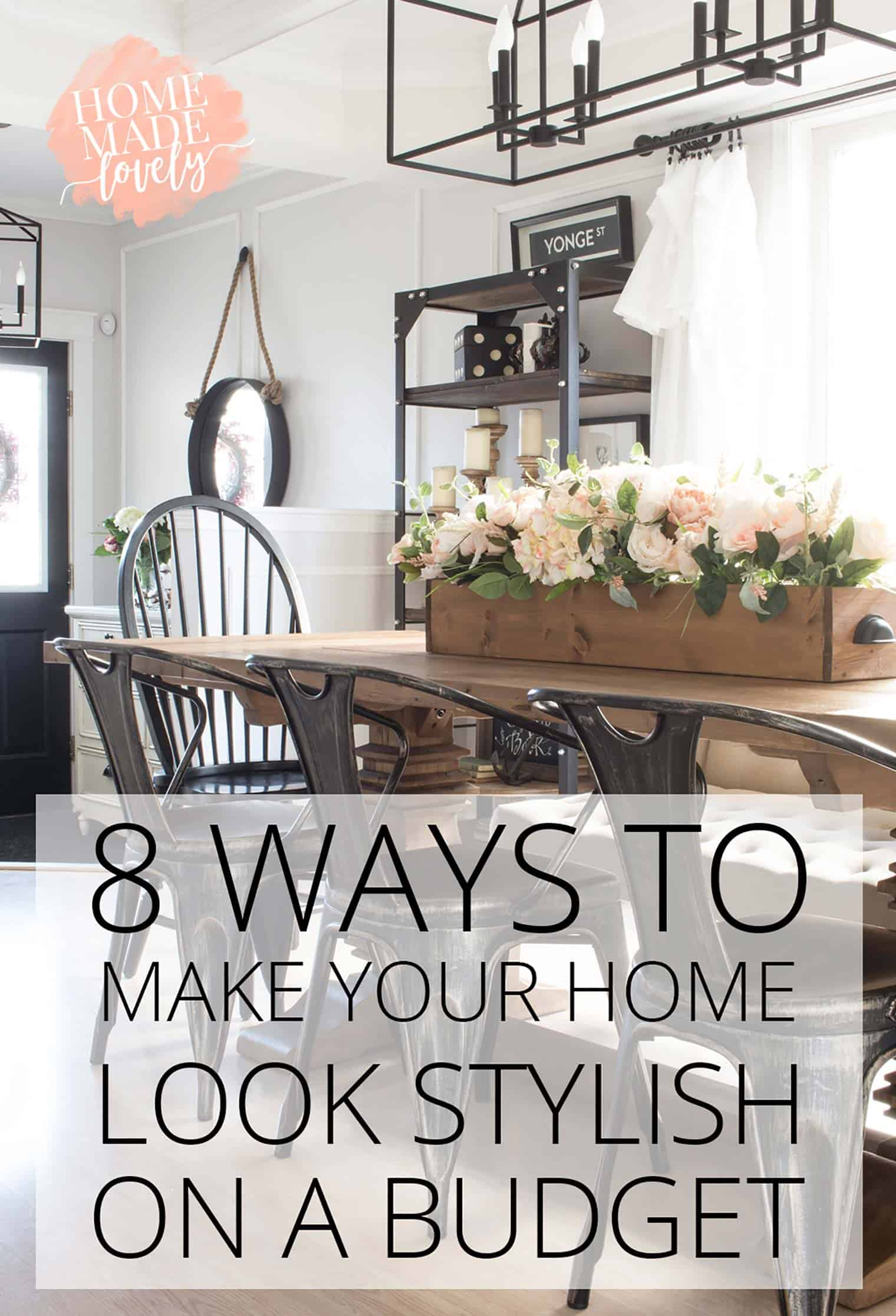 how to do up your house on a budget