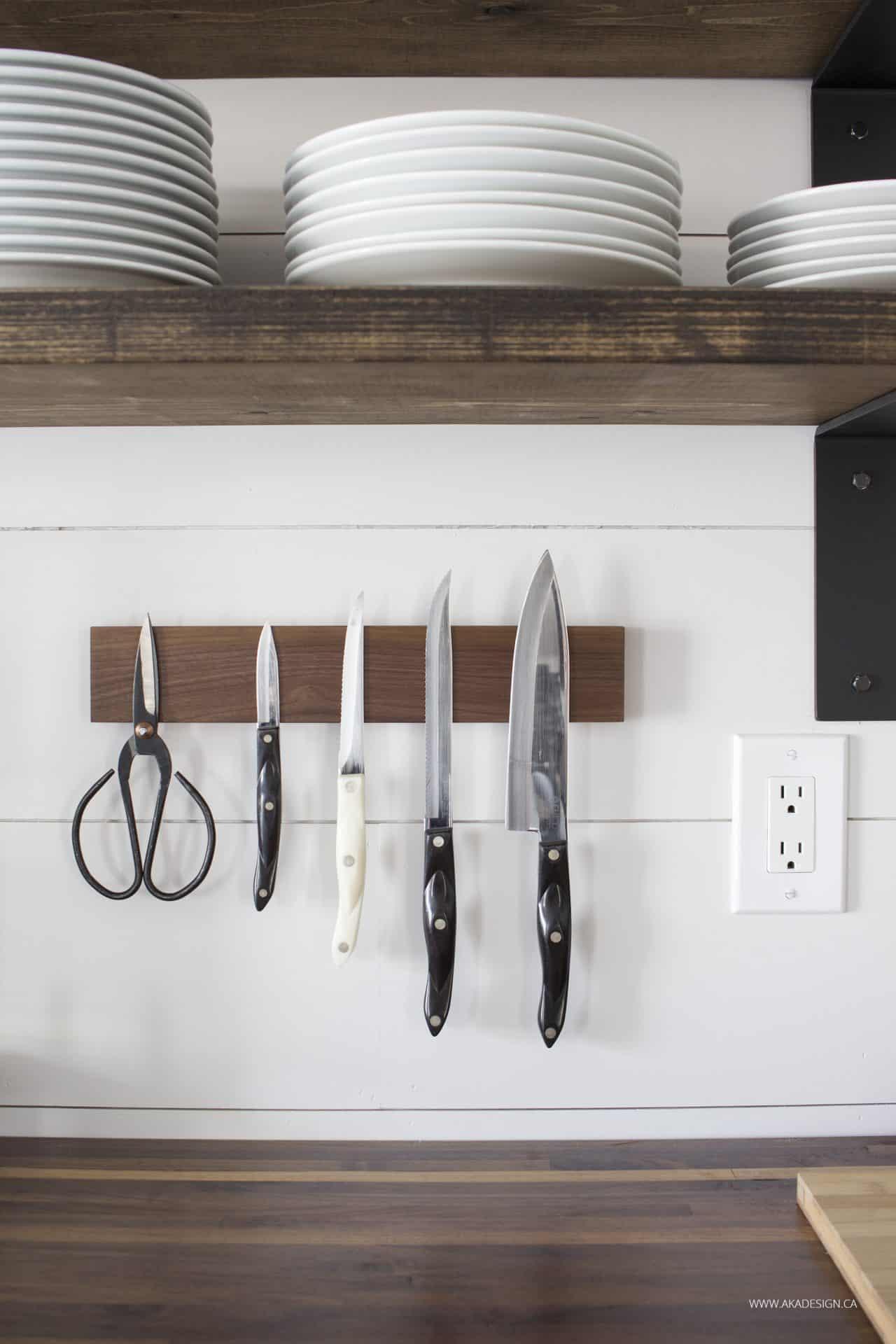 Knife Block Ipad Stand Cutting Board