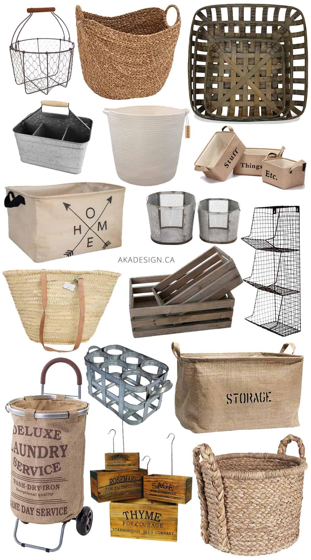 Farmhouse Baskets