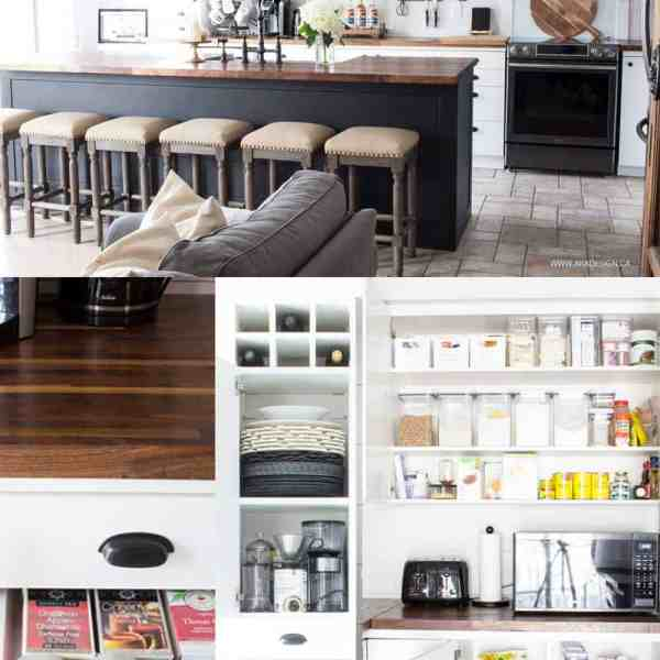 kitchen cupboards and drawers organization