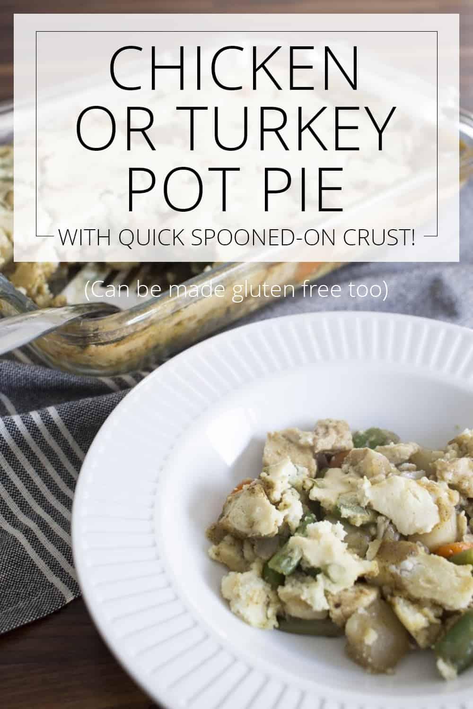 chicken pot pie turkey pot pie