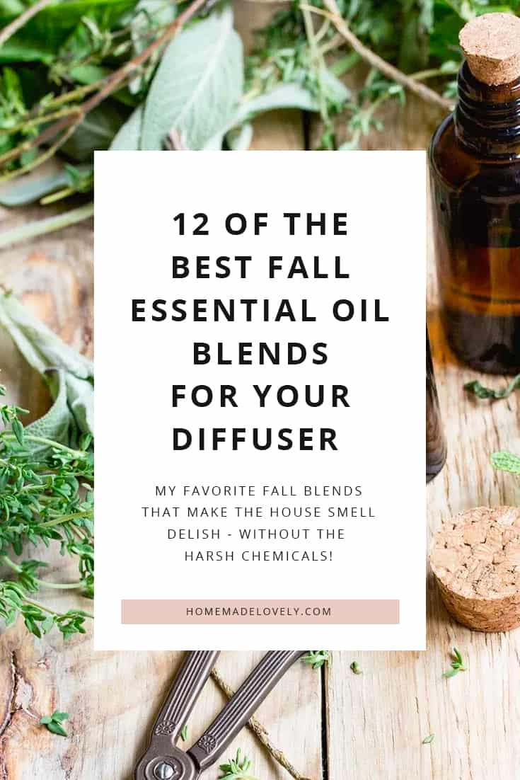 12 fall essential oil blends for diffusers