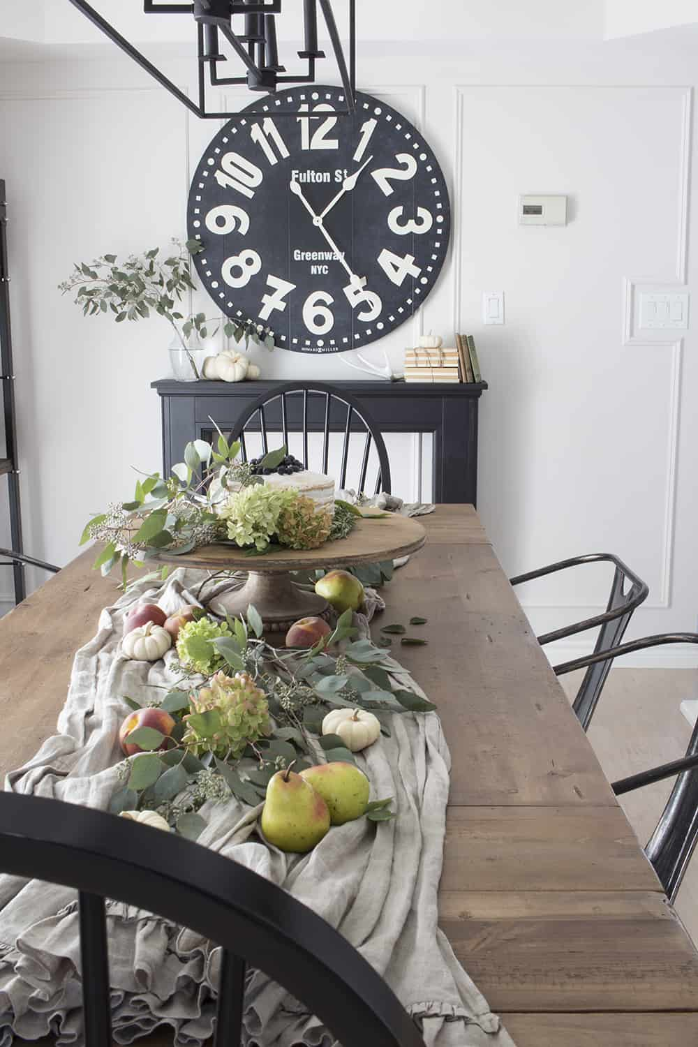 Home Made Lovely Fall Farmhouse Tour Dining Room