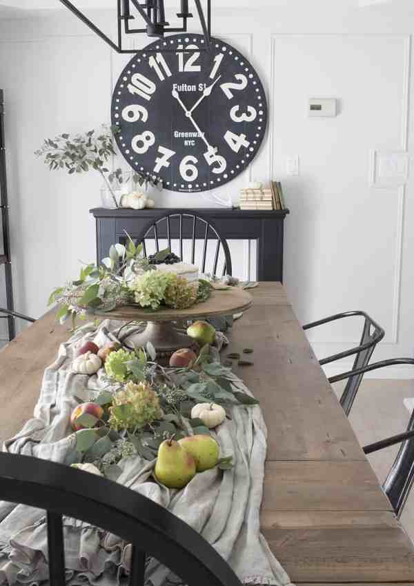 Fall Farmhouse Tour – Our Dining Room