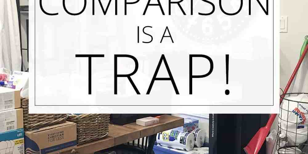 comparison is a trap