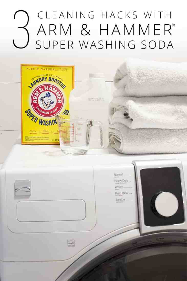 3 Cleaning Tips with ARM & HAMMER Super Washing Soda