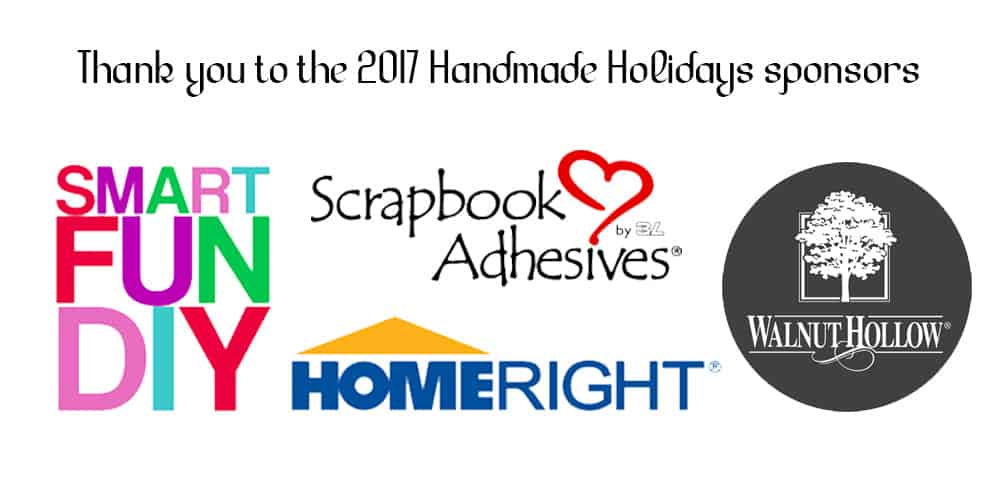 Handmade Holidays Sponsor Thank you!