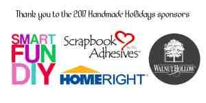 Handmade Holidays Sponsor Thank you!