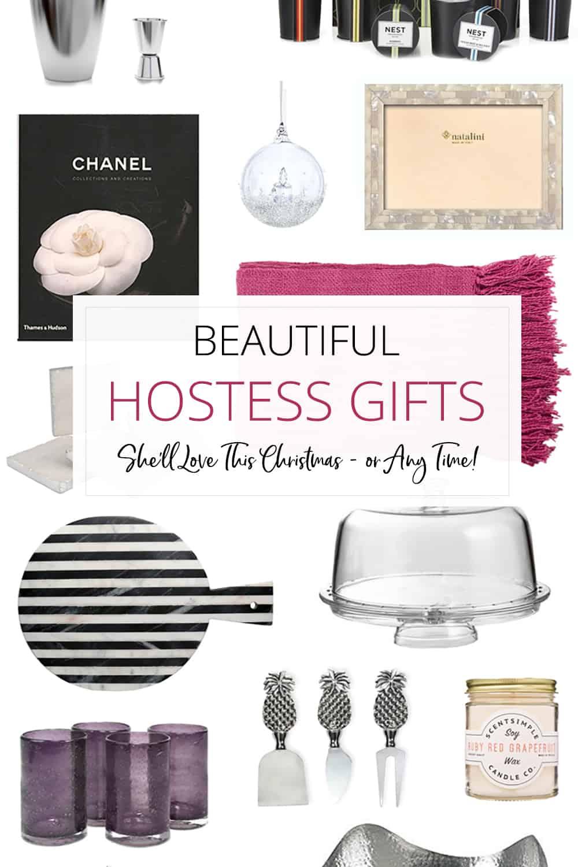 beautiful hostess gifts she'll love