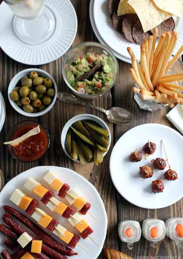 5 Easy Appetizers – Perfect for New Year's Eve or Any Cocktail Party!