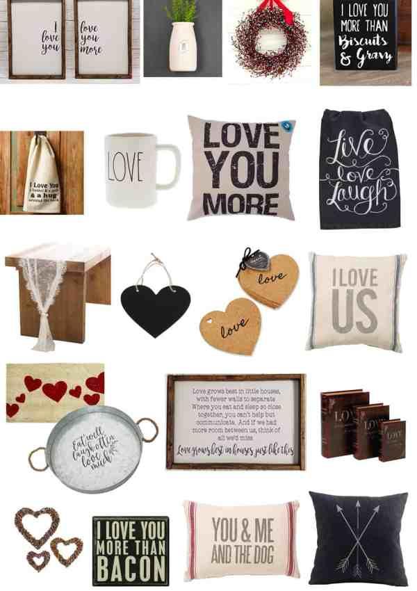 20 Farmhouse Valentine's Day Decor Finds