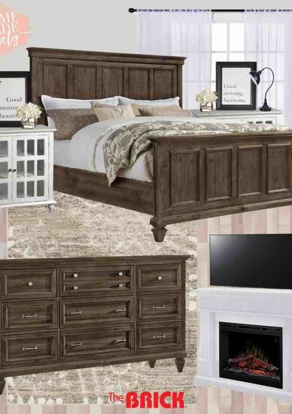 Master Bedroom Makeover Plans – Farmhouse Style in the Suburbs