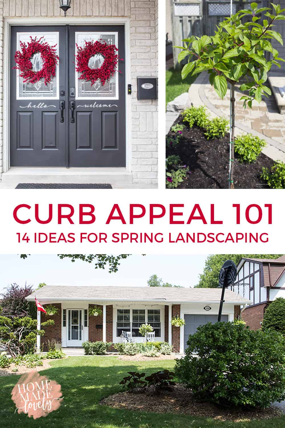 Whether you're preparing to sell your house, or you just want to improve your home's curb appeal, here's our Curb Appeal 101, 14 ideas for Spring landscaping!