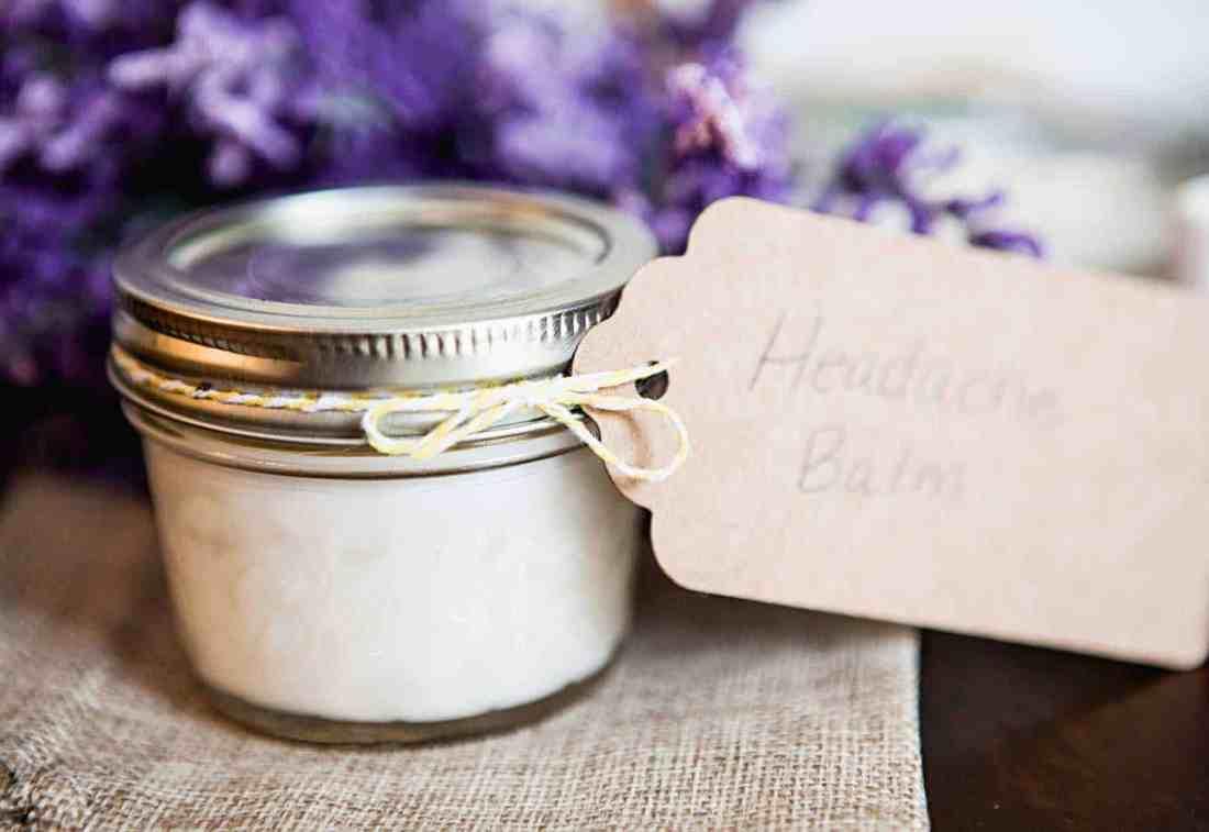 Make Your Own Headache Balm With Essential Oils