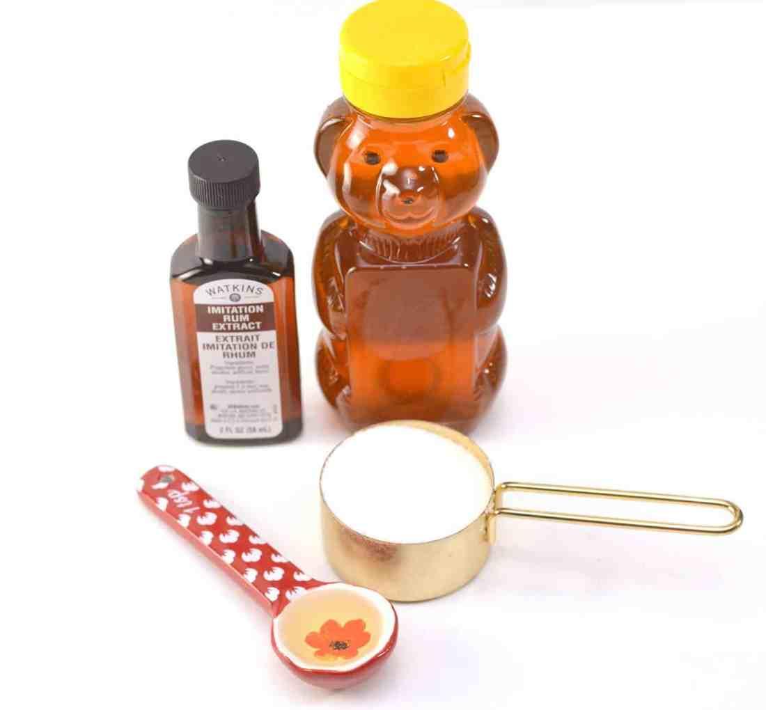 honey butter rum lip scrub ingredients
