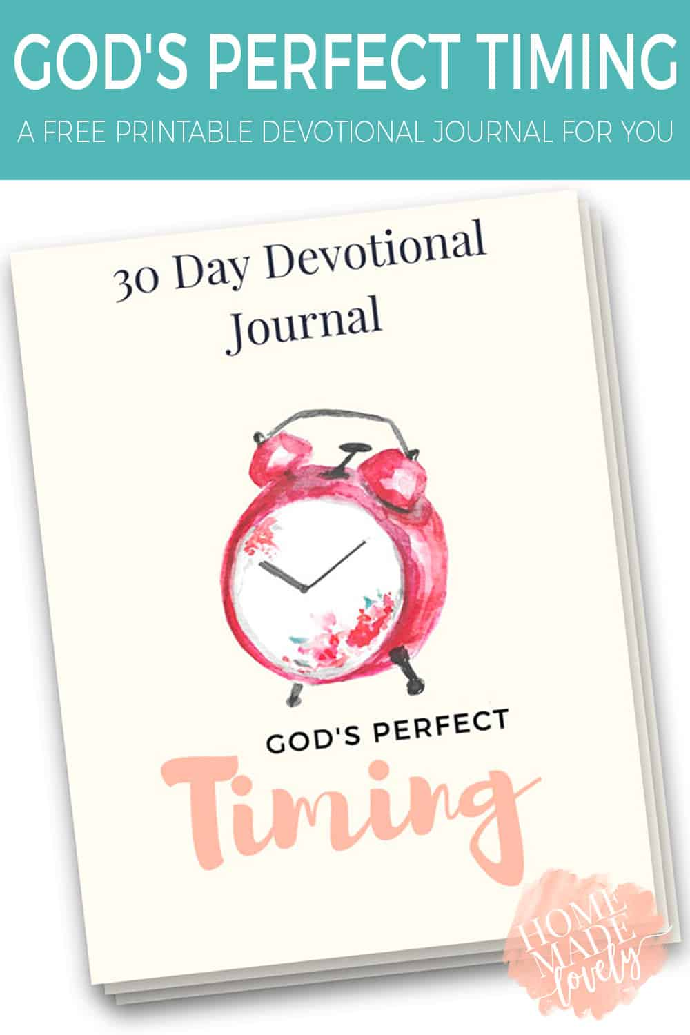 For our 22nd anniversary, we are taking a look back and really seeing God's hand in our marriage. And to celebrate, we're giving you a free God's Perfect Timing printable devotional Journal!