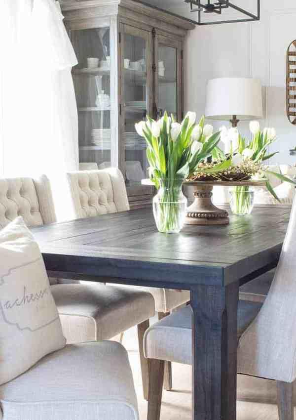 Suburban Farmhouse Dining Room Reveal!
